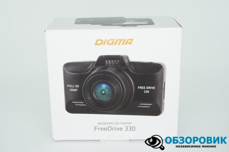 DIGMA FREEDRIVE 330 2 VideoregObzor Обзор видеорегистратора Digma FreeDrive 330