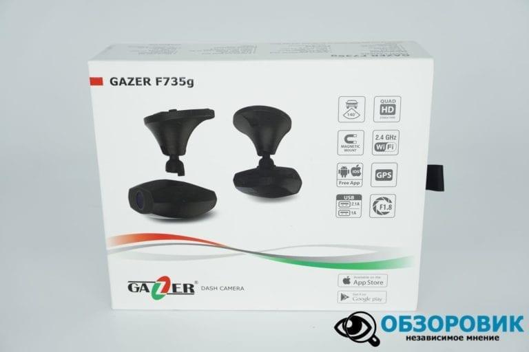 Obzor Gazer F735 G 9 VideoregObzor Обзор видеорегистратора Gazer F735g