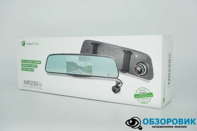 Navitel MR250 obzor 30 VideoregObzor Зеркало NAVITEL MR250