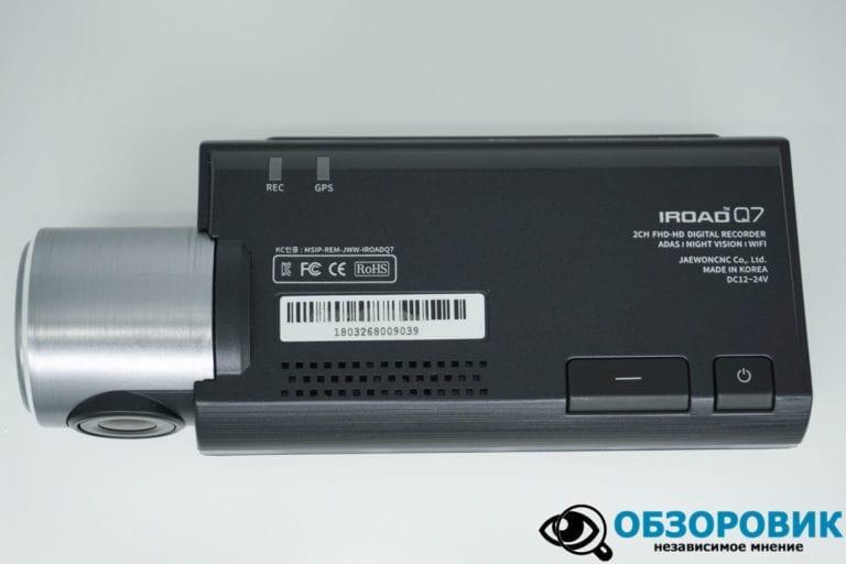 IROAD DASH CAM Q7 18 VideoregObzor Обзор корейского регистратора IROAD Q7