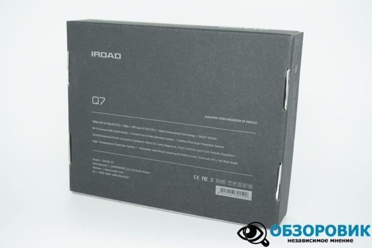 IROAD DASH CAM Q7 2 VideoregObzor Обзор корейского регистратора IROAD Q7