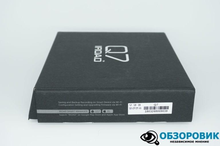 IROAD DASH CAM Q7 3 VideoregObzor Обзор корейского регистратора IROAD Q7