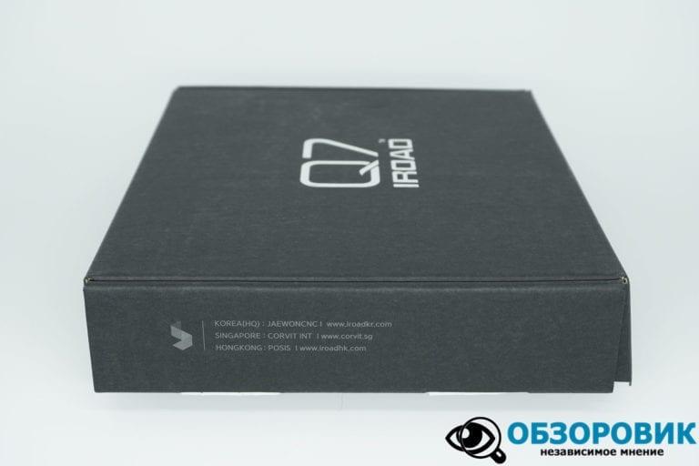 IROAD DASH CAM Q7 4 VideoregObzor Обзор корейского регистратора IROAD Q7