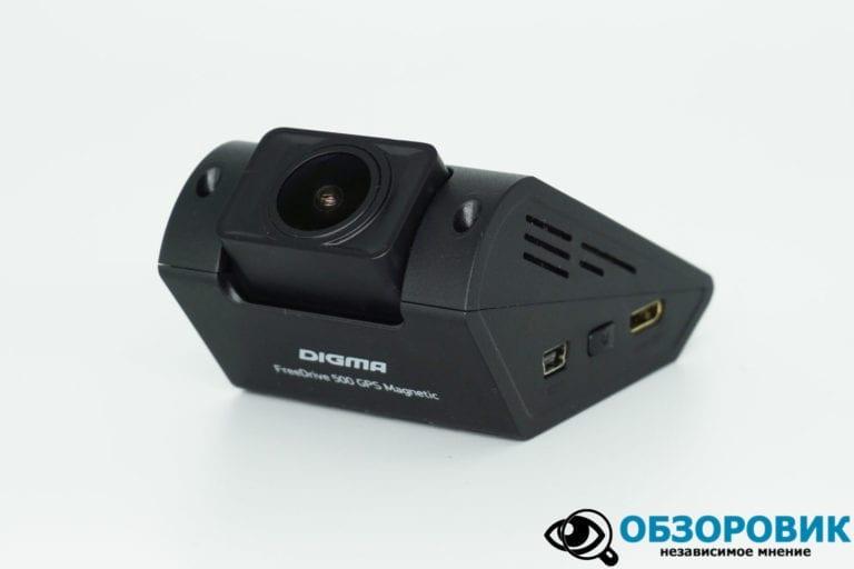 Digma FreeDreve 500 GPS 15 VideoregObzor Обзор DigmaFreeDrive500GPSMagnetic