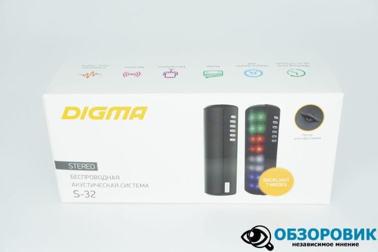 Portativnaya kolonka DIGMA S 32 1 VideoregObzor Обзор портативной Bluetooth колонки DIGMA S-32