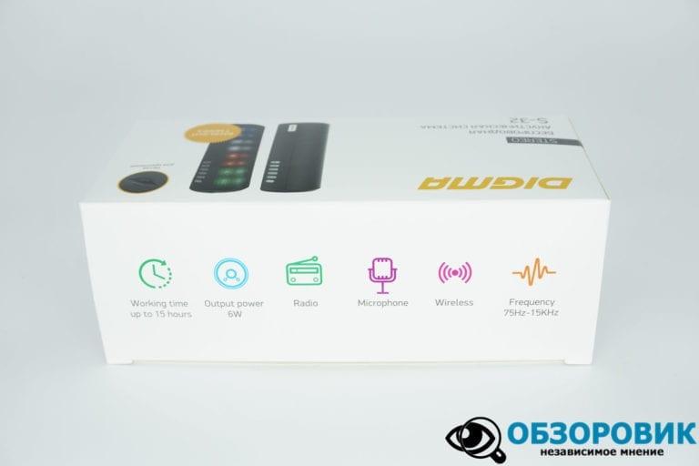 Portativnaya kolonka DIGMA S 32 5 VideoregObzor Обзор портативной Bluetooth колонки DIGMA S-32