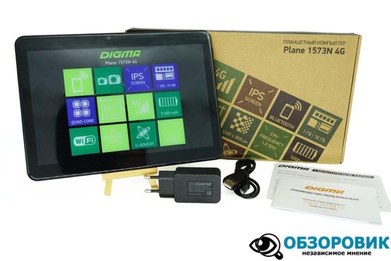 Digma Plane 1573N 4G 3 VideoregObzor Обзор недорогого планшета DigmaPlane1573N 4G