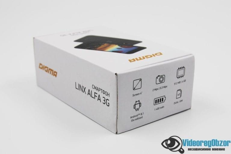 Digma LINX ALFA 3G 3