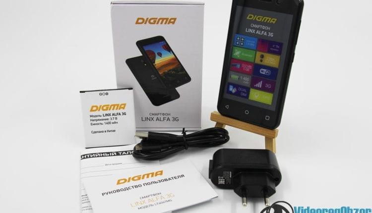 Digma LINX ALFA 3G 5