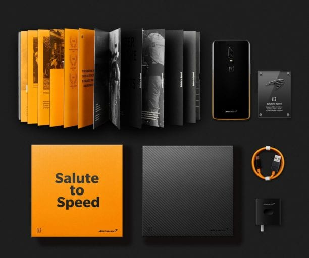 oneplus 6t mclaren edition complect