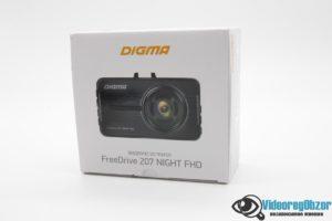 Видеорегистратор DIGMA FreeDrive 207 NIGHT FHD Обзор 1