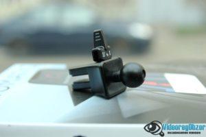 автомобильная беспроводная зарядка с сенсорным механическим захватом QCYBER AUTOMATIC 7