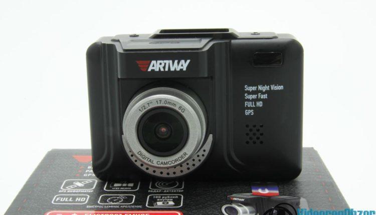 видеорегистратор с радар детектором Artway MD 106 COMBO внешний вид 1