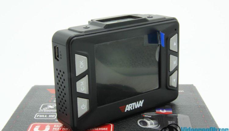 видеорегистратор с радар детектором Artway MD 106 COMBO внешний вид 4