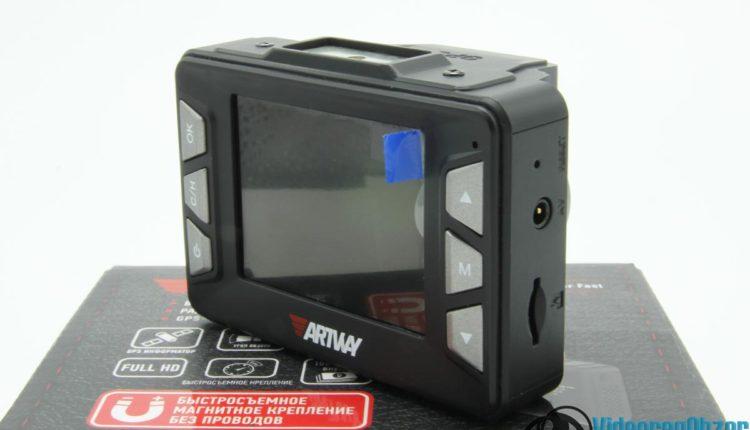 видеорегистратор с радар детектором Artway MD 106 COMBO внешний вид 6