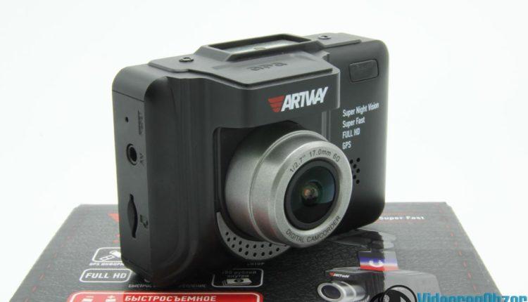 видеорегистратор с радар детектором Artway MD 106 COMBO внешний вид 8