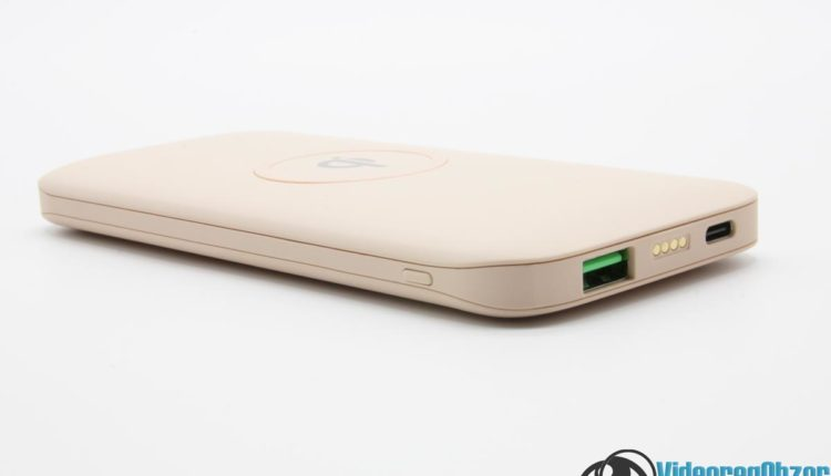 Обзор беспроводной портативного аккумулятора зарядки Interstep 10DQi 16