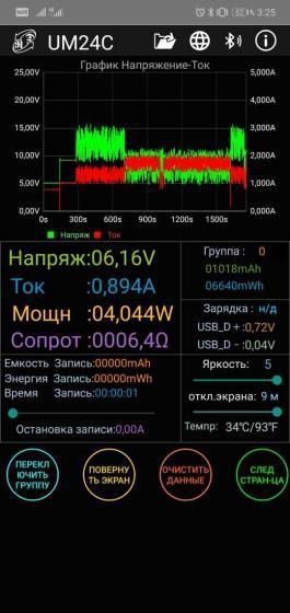 InterSter 10Dqi заряд