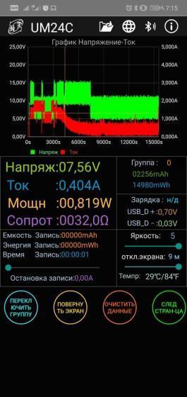 InterSter 10Dqi заряд завершен