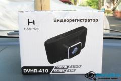 Обзор видеорегистратора harper DVHR 410 упаковка 1