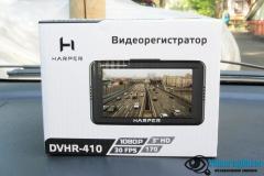 Обзор видеорегистратора harper DVHR 410 упаковка 2
