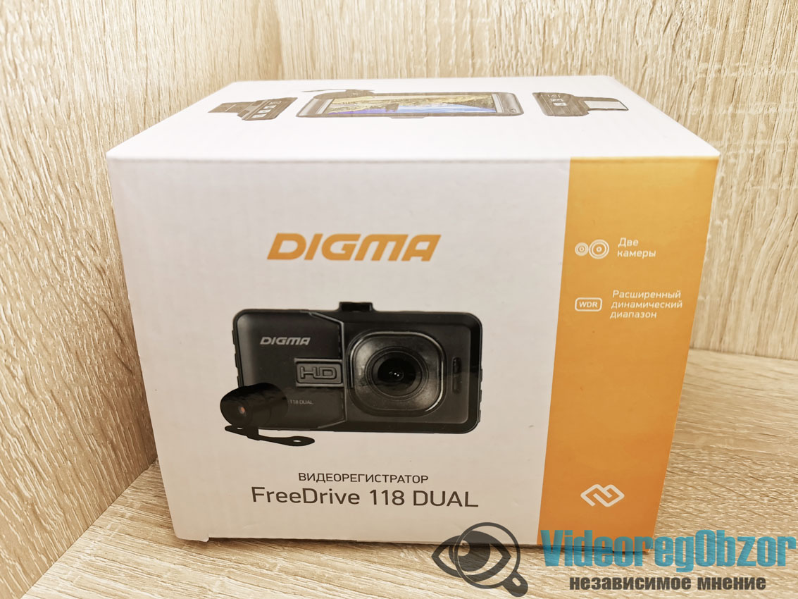 Digma FreeDrive 118 Dual 2