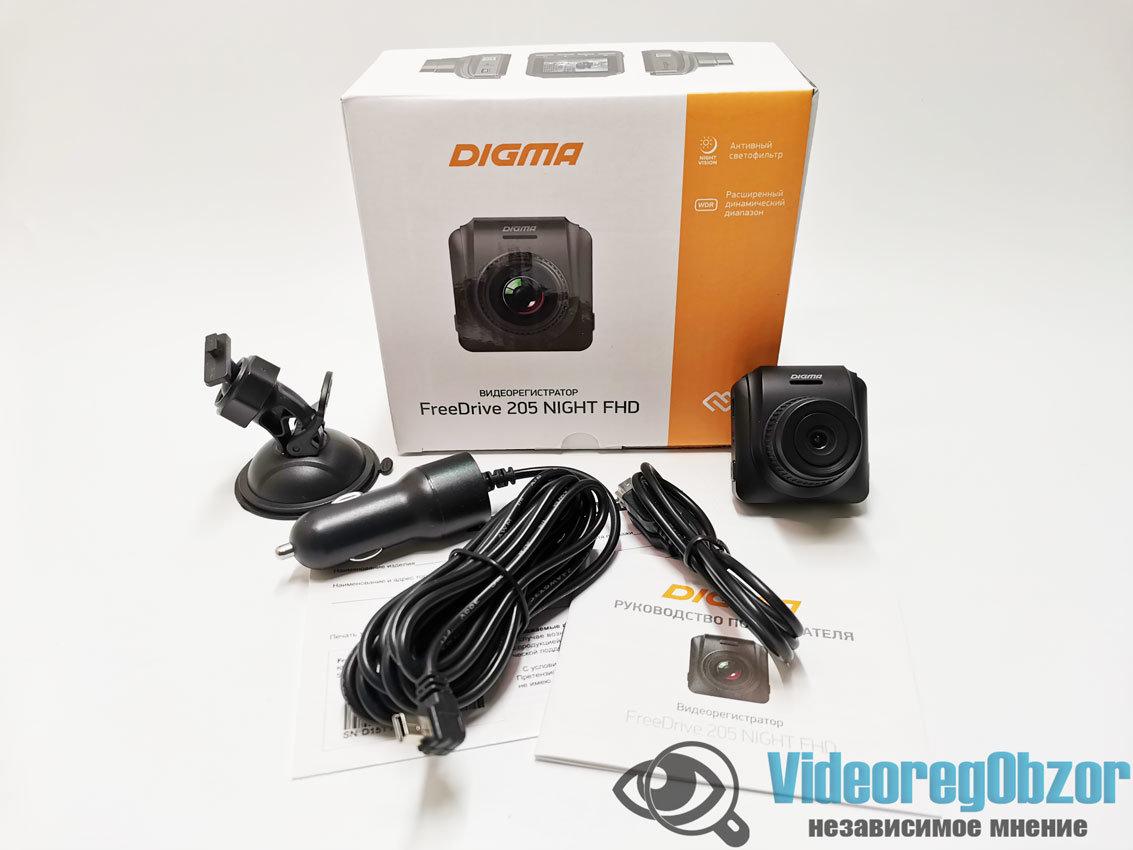 Digma FreeDrive 205 Night FHD 1