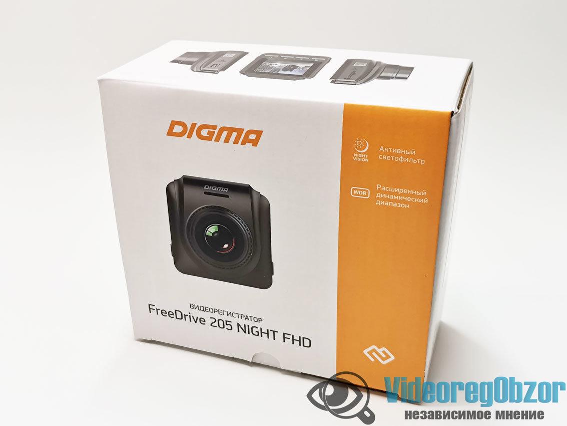 Digma FreeDrive 205 Night FHD 2