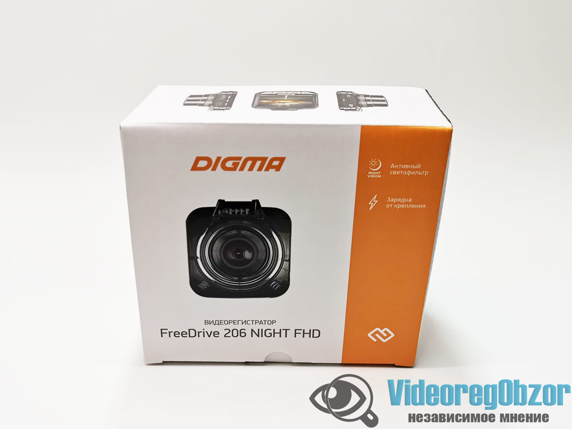 Digma FreeDrive 206 Night FHD 1