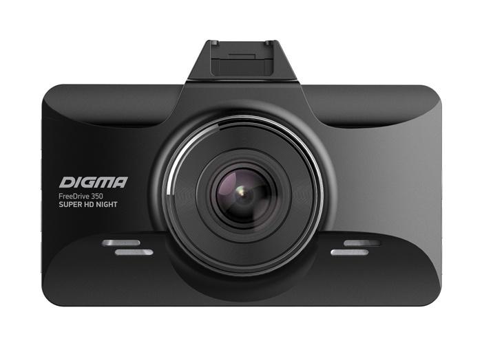 Digma FreeDrive 350 SUPER HD NIGHT 2 VideoregObzor Видеорегистратор DIGMA FreeDrive 350 SUPER HD NIGHT: и днём, и ночью.
