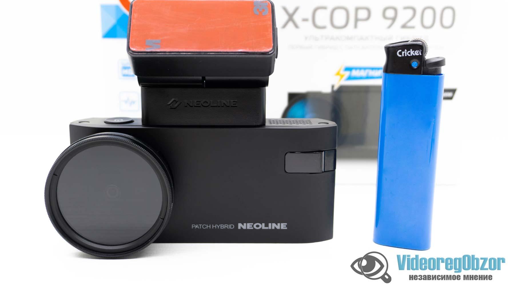 Neoline X COP 9200 обзор 24 VideoregObzor Neoline X-COP 9200: обзор видеорегистратора с радар-детектором