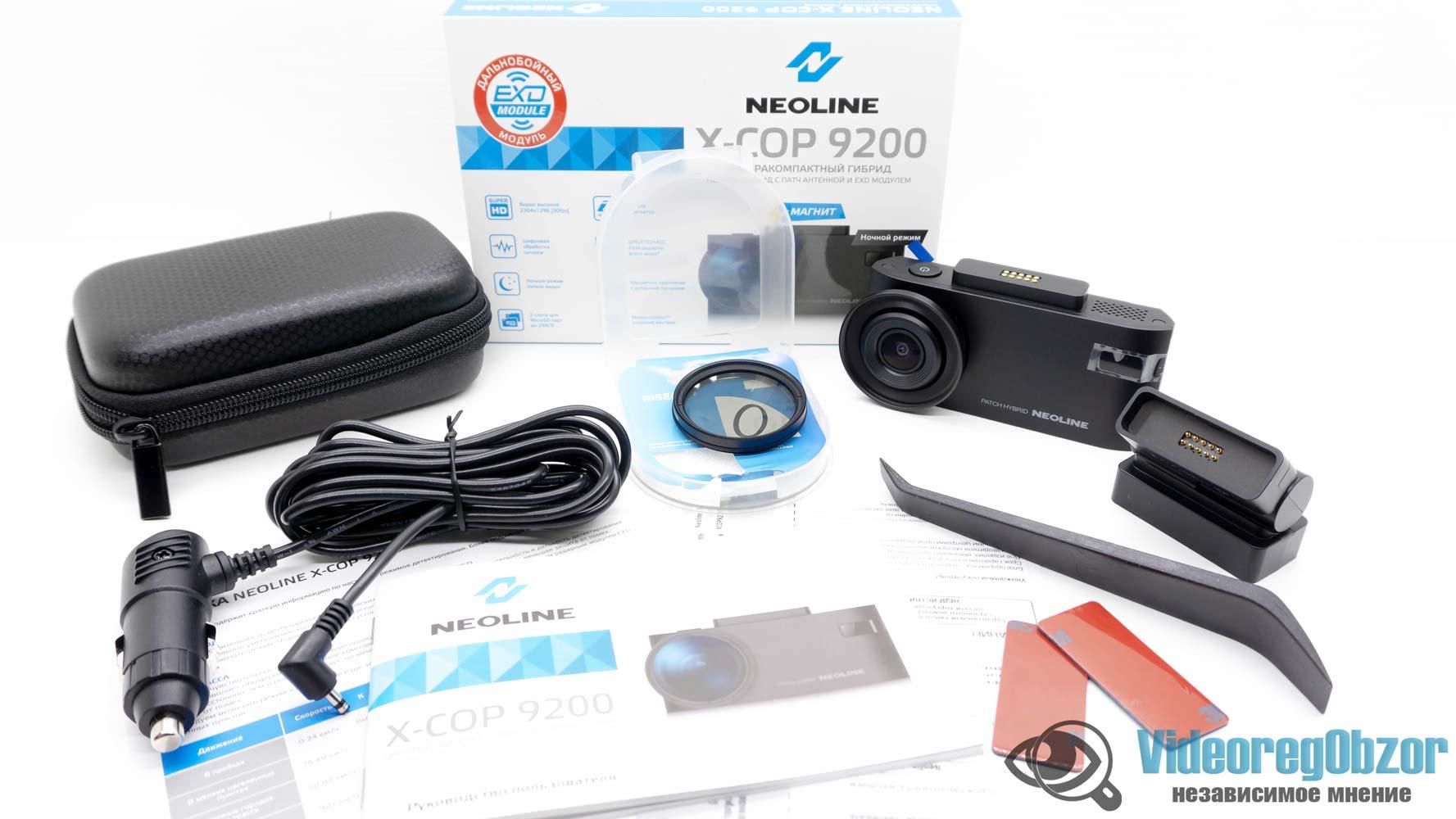 Neoline X COP 9200 обзор 5 VideoregObzor Neoline X-COP 9200: обзор видеорегистратора с радар-детектором