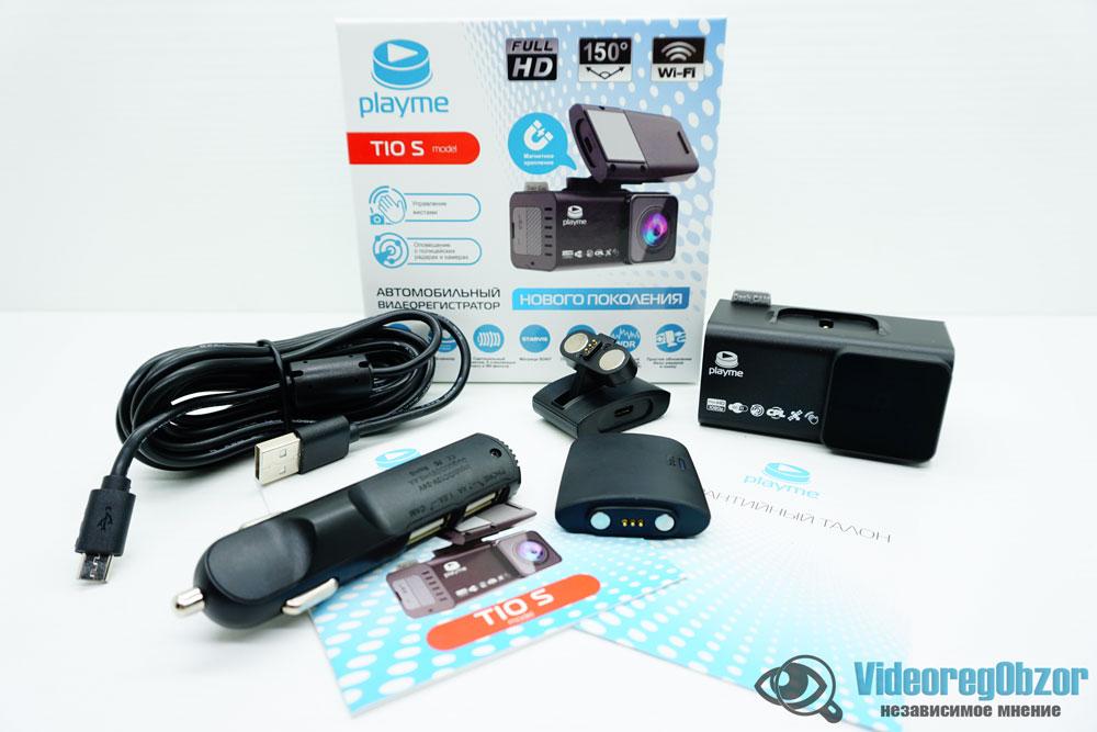 PlayMe TIO S обзор видеорегистратора 1 VideoregObzor Обзор видеорегистратора Playme TIO S