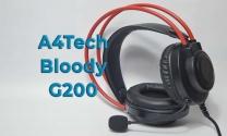 Обзор компьютерной гарнитуры A4Tech Bloody G200 со стереозвуком 2.0