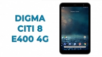 Обзор планшетного компьютера DIGMA CITI 8 E400 4G