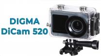 Обзор 4k экшн-камеры DIGMA DiCam 520