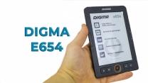 Обзор электронной книги DIGMA E654 на E-ink экране