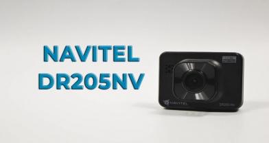 Обзор регистратора NAVITEL DR205NV