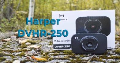 Обзор бюджетного видеорегистратора Harper DVHR-250