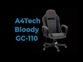 Обзор игрового кресла A4Tech Bloody GC-110