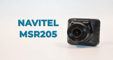 Обзор регистратора NAVITEL MSR205