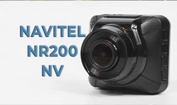 Обзор регистратора NAVITEL NR200 NV