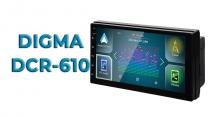 Обзор 2-din автомагнитолы DIGMA DCR-610