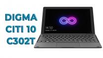 Обзор планшетного компьютера с клавиатурой Digma CITI 10 C302T
