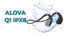 Обзор беспроводных наушников ALOVA Q1 с костной проводимостью и защитой IPX8