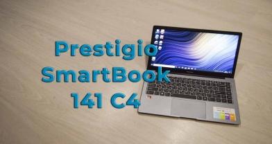 Обзор ноутбука Prestigio SmartBook 141 C4