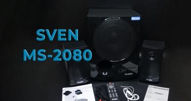 Обзор акустической системы SVEN MS-2080