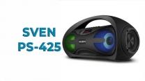 Обзор портативной акустической системы SVEN PS-425 c RGB подсветкой