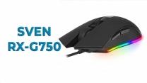 Обзор игровой мыши SVEN RX-G750 с RGB подсветкой